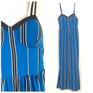 Band of Gypsies Striped Sweetheart Jumpsuit NWT